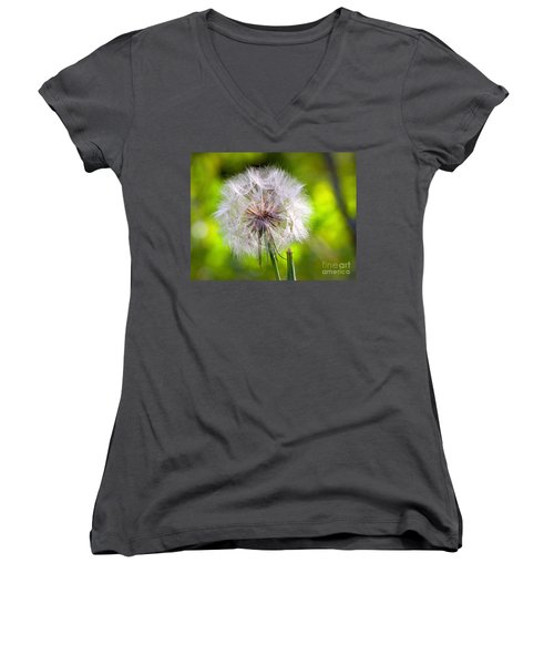 Fluffy Women's V-Neck