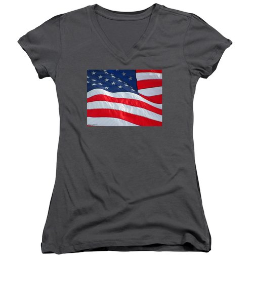 Flying Free Women's V-Neck (Athletic Fit)