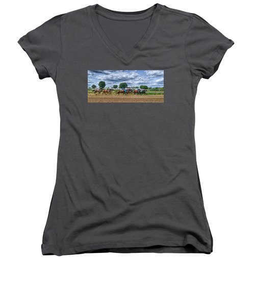 Flying Women's V-Neck (Athletic Fit)