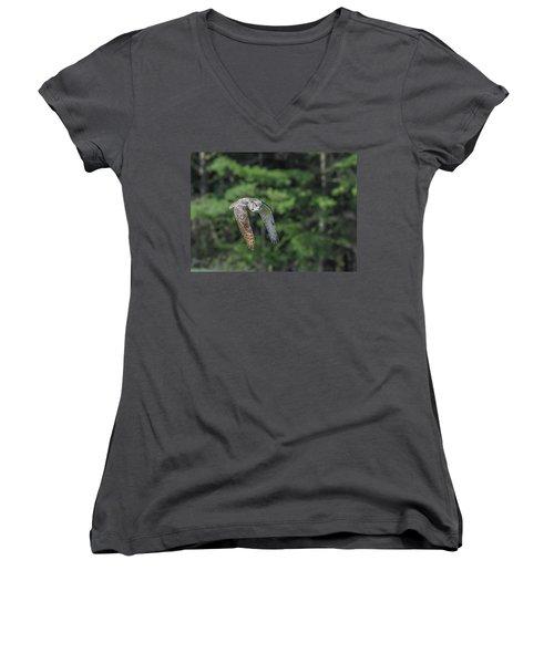 Flying Low... Women's V-Neck T-Shirt