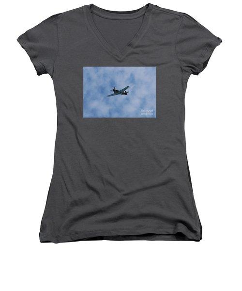 Flying Tiger 1 Women's V-Neck T-Shirt