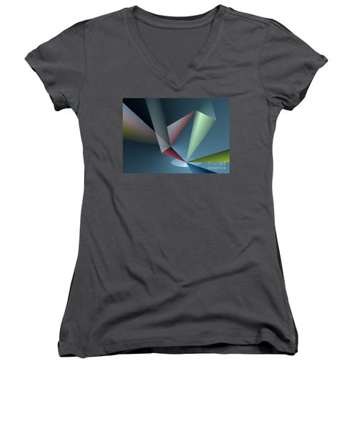 Focus Women's V-Neck T-Shirt