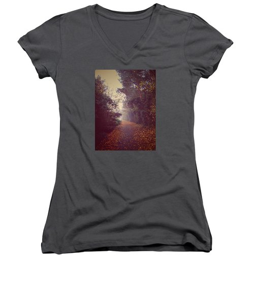 Foggy Women's V-Neck (Athletic Fit)