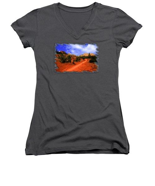 Follow Me Women's V-Neck T-Shirt