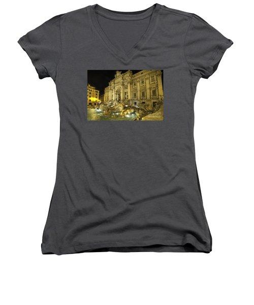 Fontana Di Trevi 1.0 Women's V-Neck T-Shirt
