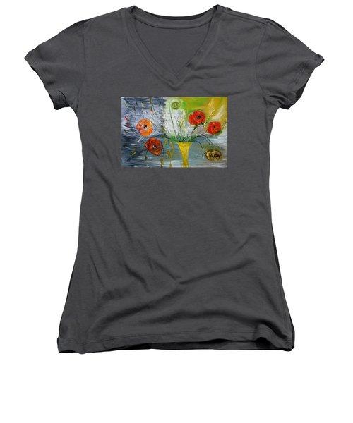 For Mom Women's V-Neck T-Shirt