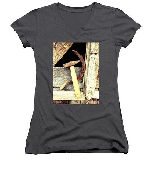 For Old Times Sake  Women's V-Neck T-Shirt