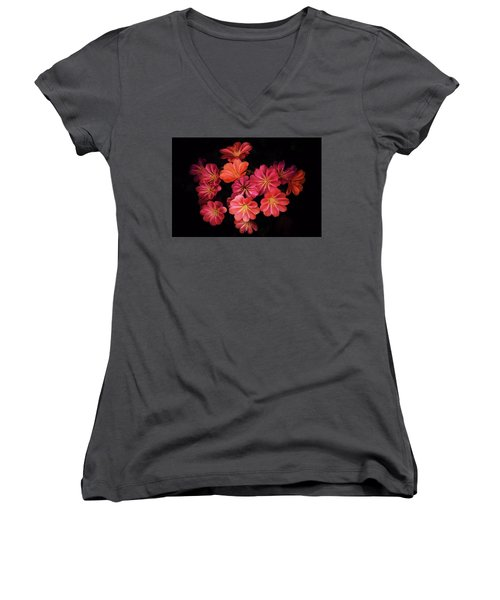 For The Most Beautiful Girl In The World Women's V-Neck T-Shirt