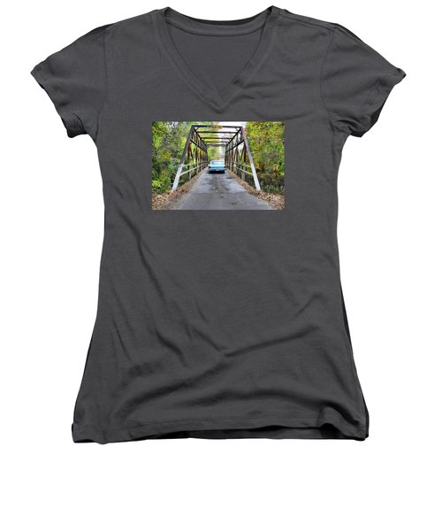 Ford And Fall Women's V-Neck T-Shirt