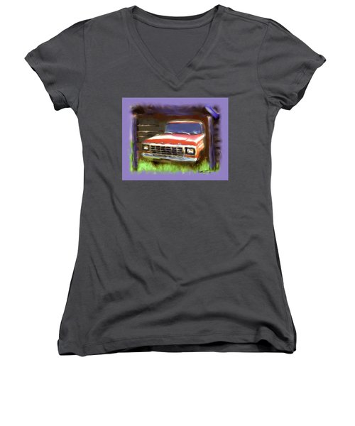 Ford F150 Women's V-Neck (Athletic Fit)