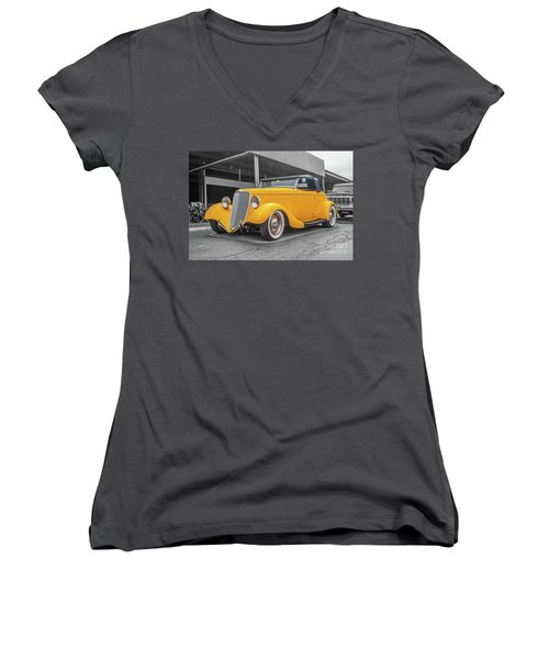 Ford Roadster Women's V-Neck (Athletic Fit)