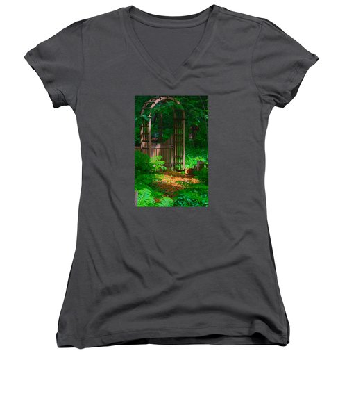 Forest Gateway Women's V-Neck (Athletic Fit)