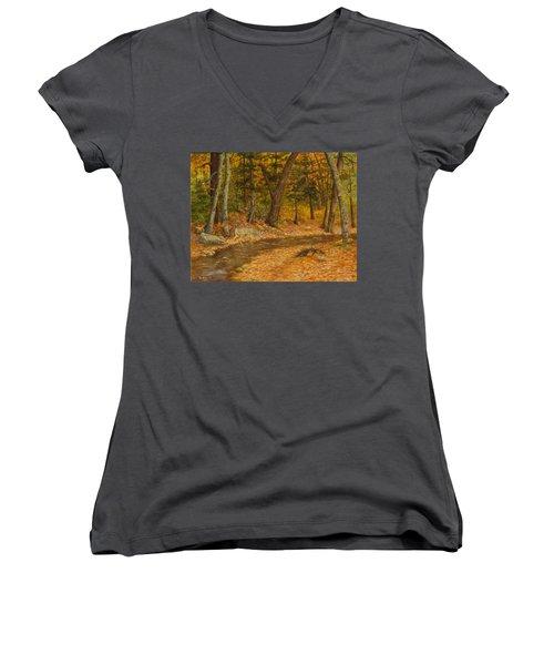 Forest Life Women's V-Neck T-Shirt