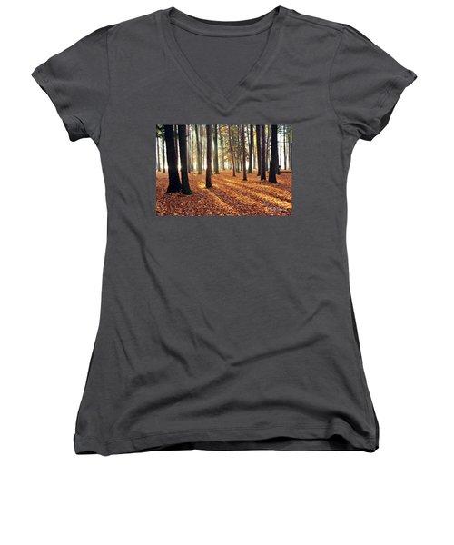 Forest Shadows Women's V-Neck