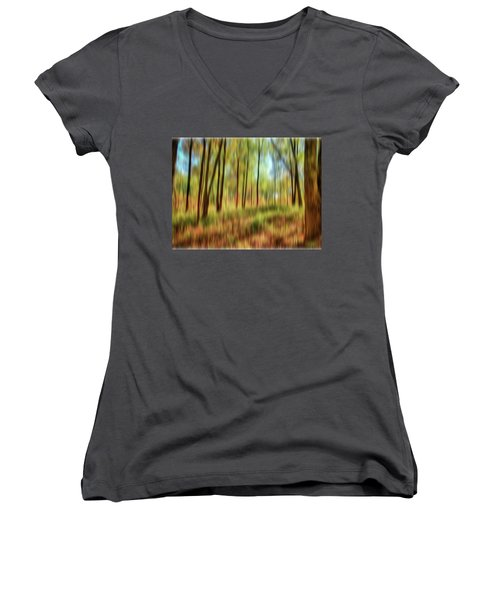 Forest Vision Women's V-Neck