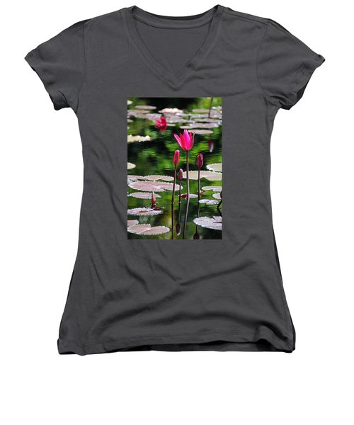 Forever And A Day Women's V-Neck T-Shirt (Junior Cut)