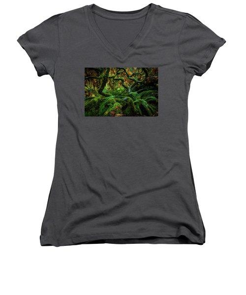 Forever Green Women's V-Neck