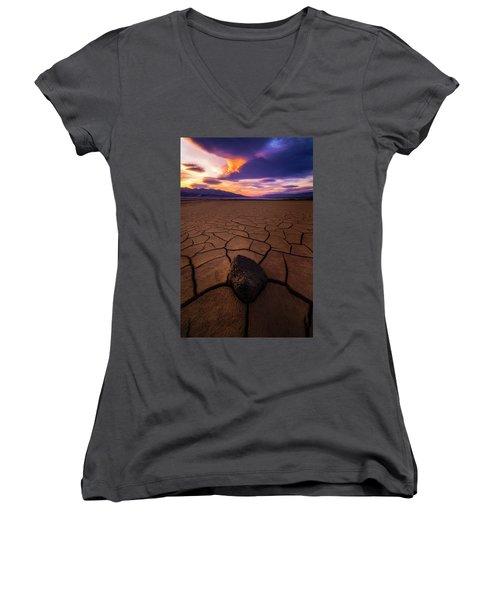 Forever More Women's V-Neck T-Shirt (Junior Cut)