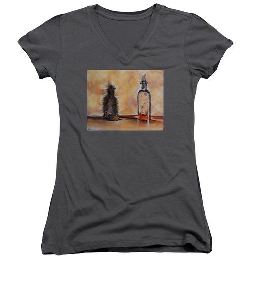 Forgetting Is So Long Women's V-Neck T-Shirt