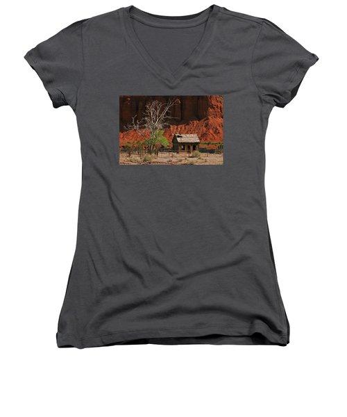 Forgotten - 365-129 Women's V-Neck T-Shirt (Junior Cut) by Inge Riis McDonald