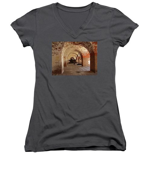 Fort Pulaski II Women's V-Neck (Athletic Fit)