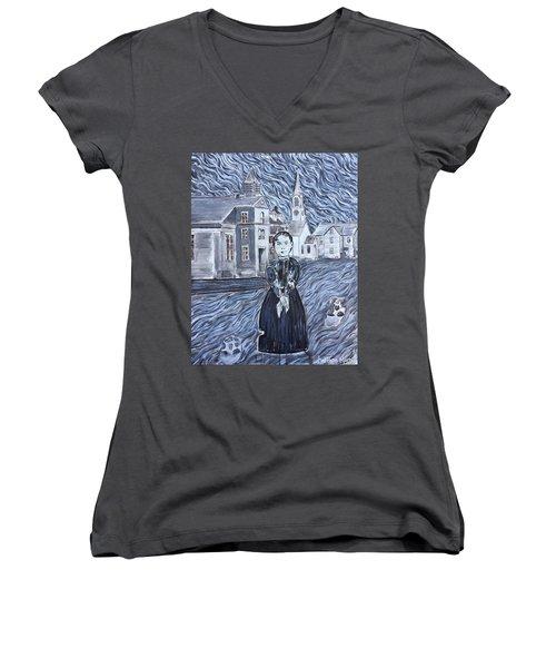 Forty Whacks Women's V-Neck T-Shirt