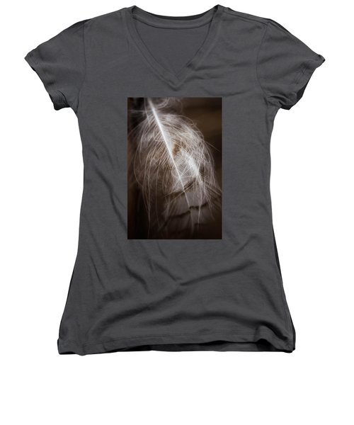 Found Feather Women's V-Neck