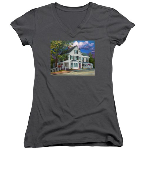Fournier Funeral Home Women's V-Neck T-Shirt