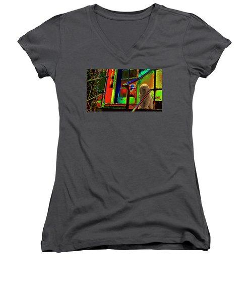 Foxy Roxy Women's V-Neck T-Shirt