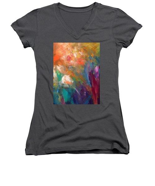 Fragrant Breeze Women's V-Neck T-Shirt