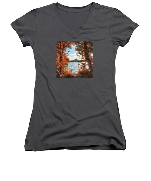 Framed Women's V-Neck
