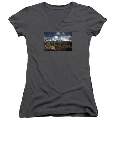 Framed Women's V-Neck (Athletic Fit)