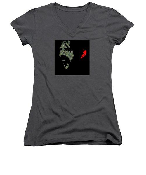 Frank Zappa Women's V-Neck