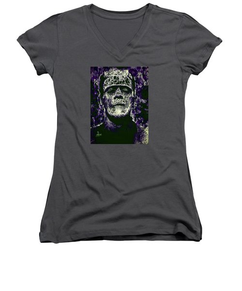 Frankenstein Women's V-Neck