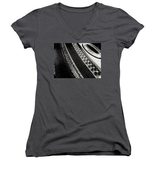 Franklin Piano Women's V-Neck T-Shirt
