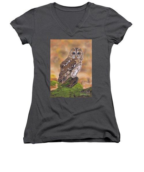 Free As A Bird Women's V-Neck
