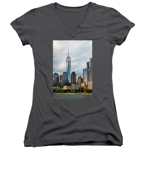 Freedom Tower - Lower Manhattan 1 Women's V-Neck