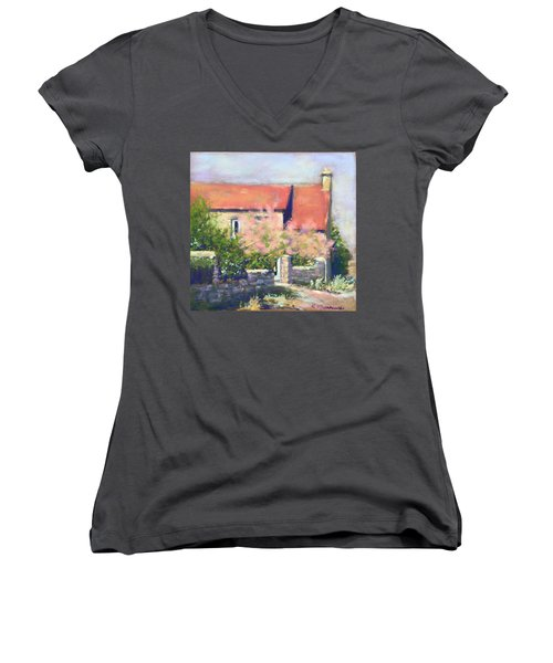 French Cottage Women's V-Neck (Athletic Fit)