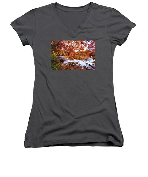 French Creek 15-107 Women's V-Neck T-Shirt