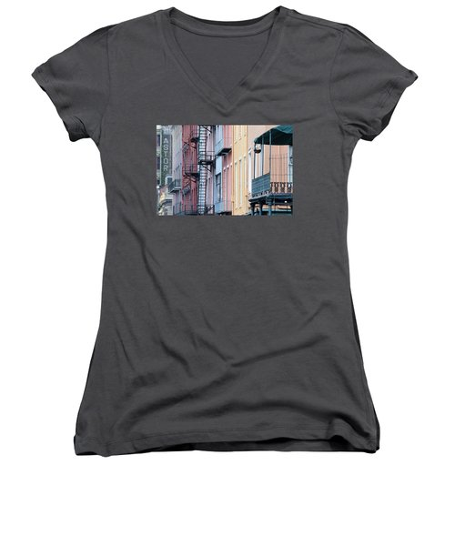 French Quarter Colors Women's V-Neck