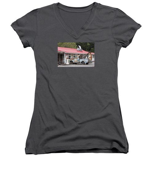 Fresh Fish II Women's V-Neck (Athletic Fit)