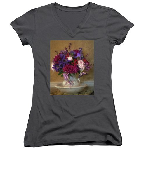 Fresh From The Garden Women's V-Neck (Athletic Fit)