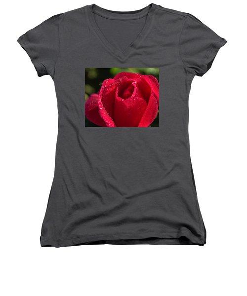 Fresh Rose Women's V-Neck
