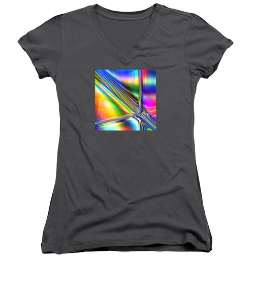 Freshly Squeezed Women's V-Neck T-Shirt (Junior Cut) by Andreas Thust