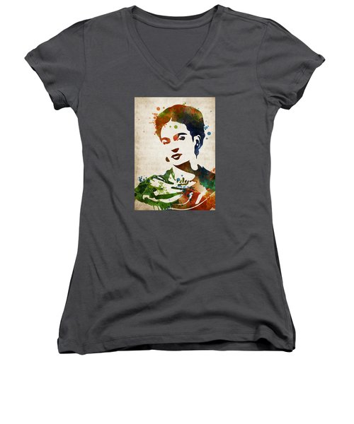 Frida Kahlo Women's V-Neck T-Shirt