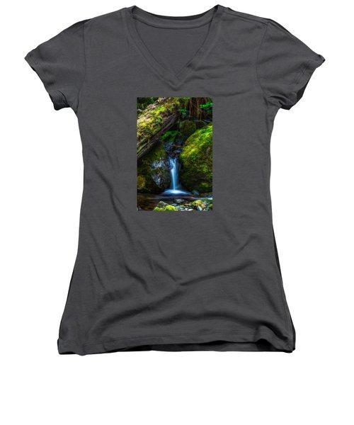 From Between Women's V-Neck T-Shirt (Junior Cut) by James Heckt