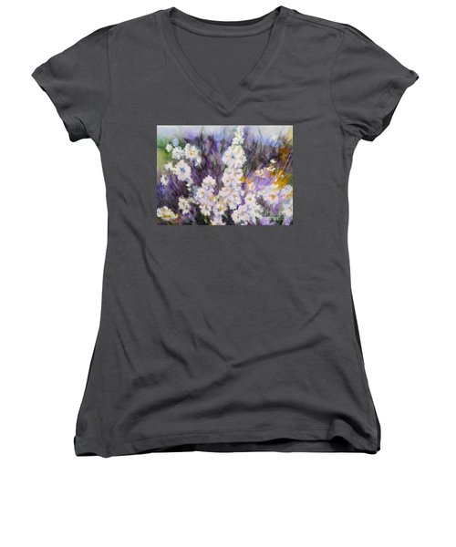 From My Garden Women's V-Neck (Athletic Fit)