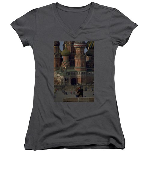 From Russia With Love Women's V-Neck