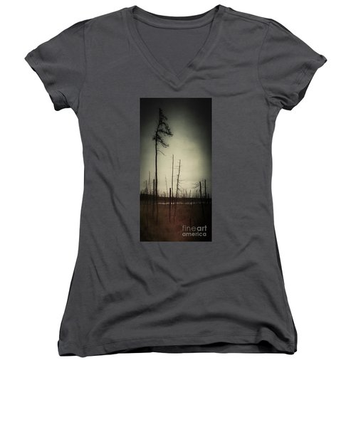 From The Ashes Women's V-Neck