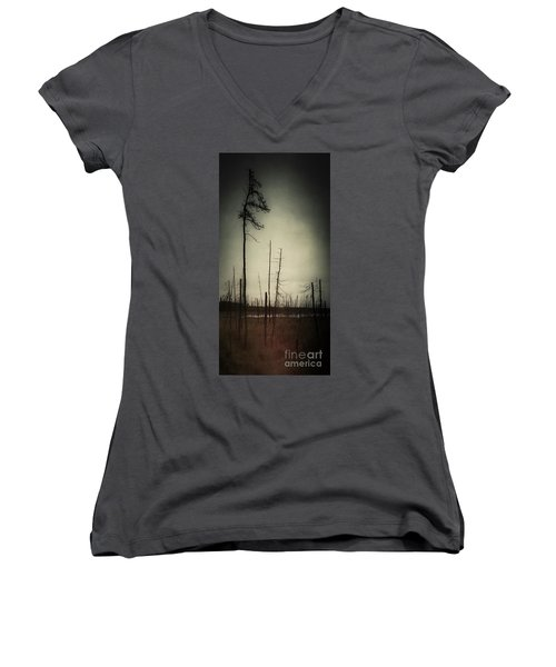 From The Ashes Women's V-Neck (Athletic Fit)